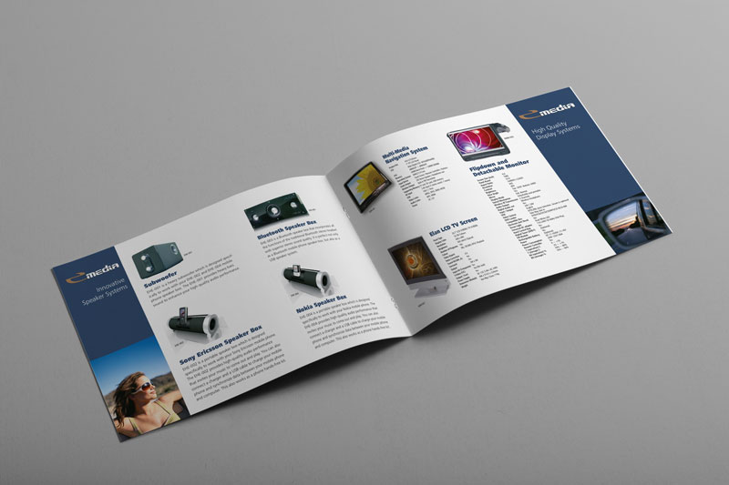Elan Technology Brochure Design - Viper Design