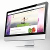 nutritional health website design
